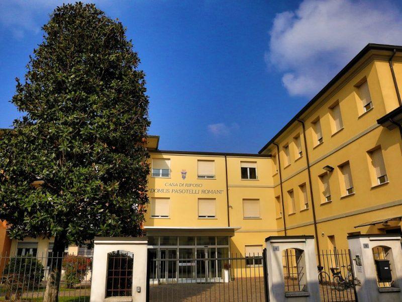 facciata principale del Centro Residenziale