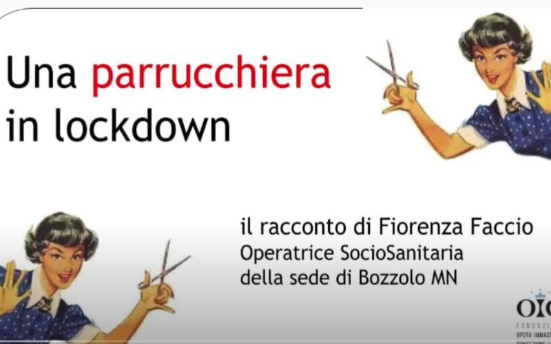 parrucchiera in lockdown